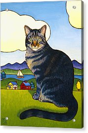 Coupeville Cat Acrylic Print
