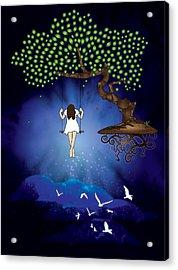 Dreamscape Acrylic Print by Serena King