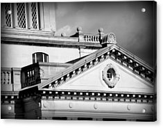 Court In Session Acrylic Print by Mary Beth Landis