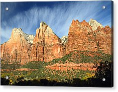 Court Of The Patriarch In Zion Acrylic Print by Pierre Leclerc Photography