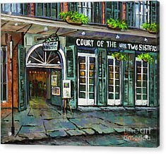 Court Of The Two Sisters Acrylic Print