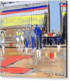 Court Side Conference Acrylic Print