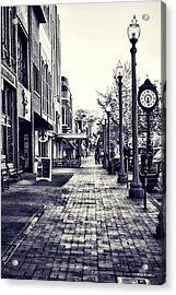 Court Street Clock Florence Alabama Acrylic Print