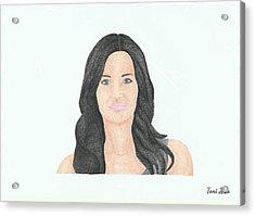 Courtney Cox Acrylic Print