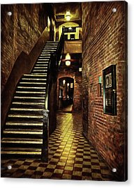Presence Of The Past Acrylic Print by Marilyn Wilson
