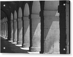Courtyard Spain Acrylic Print by Douglas Pike