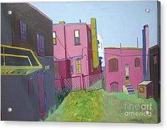 Courtyard View Acrylic Print by Debra Bretton Robinson