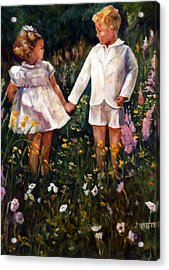 Cousins Acrylic Print by Jimmie Trotter