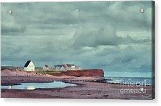 Cousins Shore Prince Edward Island Landscape Acrylic Print by Edward Fielding