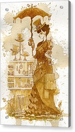 Couture Acrylic Print by Brian Kesinger