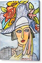 Couture Chapeau Acrylic Print
