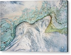 Cove Acrylic Print by Alexander Kunz