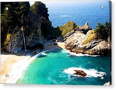 Cove And Mcway Falls Acrylic Print