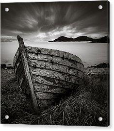 Cove Boat Acrylic Print
