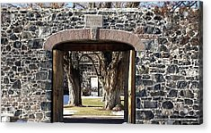 Acrylic Print featuring the photograph Cove Fort, Utah by Cynthia Powell