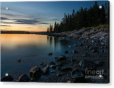 Cove Acrylic Print by Paul Noble