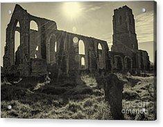 Covehithe Abbey Acrylic Print by Svetlana Sewell