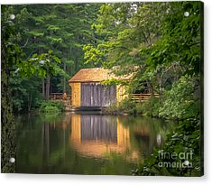 Covered Bridge Acrylic Print