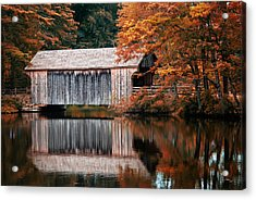 Covered Bridge Osv Acrylic Print