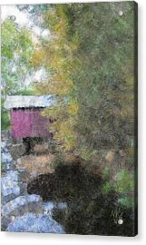 Roddy Road Covered Bridge Acrylic Print