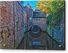Covered Canal In Den Bosch Acrylic Print