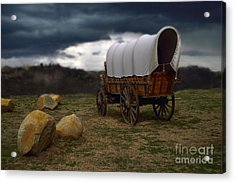 Covered Wagon 2 Acrylic Print