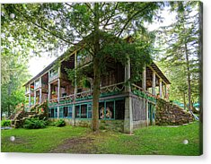 Acrylic Print featuring the photograph Covewood Lodge On Big Moose Lake by David Patterson