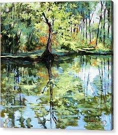 Covington Pond Acrylic Print