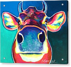 Cow - Fawn Acrylic Print by Alicia VanNoy Call
