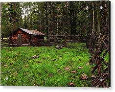 Cowboy Camp Acrylic Print