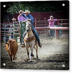 Cowboy In Action#2 Acrylic Print