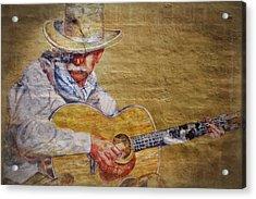 Cowboy Poet Acrylic Print