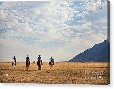 Cowboys On The Open Range Acrylic Print