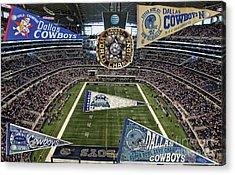 Cowboys Super Bowls Acrylic Print
