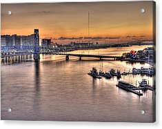 Cowford Circa 2010 Acrylic Print by William Jones