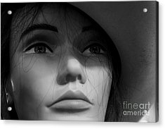 Cowgirl Up Acrylic Print by Robert Yaeger