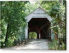 Cox Ford Bridge Acrylic Print