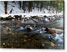 Coxing Kill In December #1 Acrylic Print by Jeff Severson
