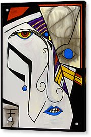 Coyote Breakdown 48x36 Acrylic Print by Hans Magden