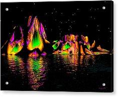 Coyote Moon Acrylic Print