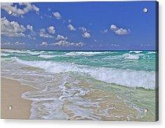 Cozumel Paradise Acrylic Print by Chad Dutson