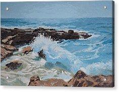 Cozumel Wave Acrylic Print