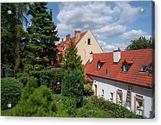 Acrylic Print featuring the photograph Cozy Prague by Jenny Rainbow