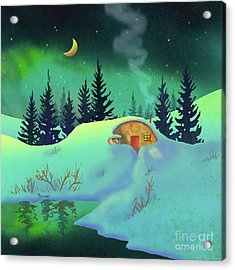 Cozy Quonset Acrylic Print