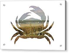 Crab Beach Acrylic Print