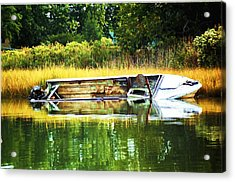 Crab Boat Retired Acrylic Print