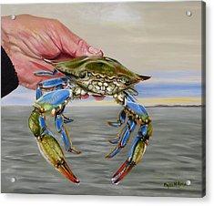 Crab Fingers Acrylic Print