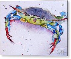 Crabby Acrylic Print
