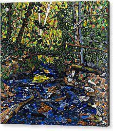 Crabtree Creek Acrylic Print by Micah Mullen