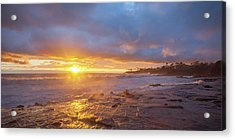 Acrylic Print featuring the photograph Crack In The Sky by Cliff Wassmann